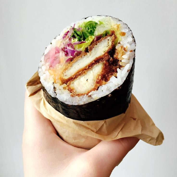 Best 25 chicken sushi ideas on pinterest fried chicken for Is sushi raw fish