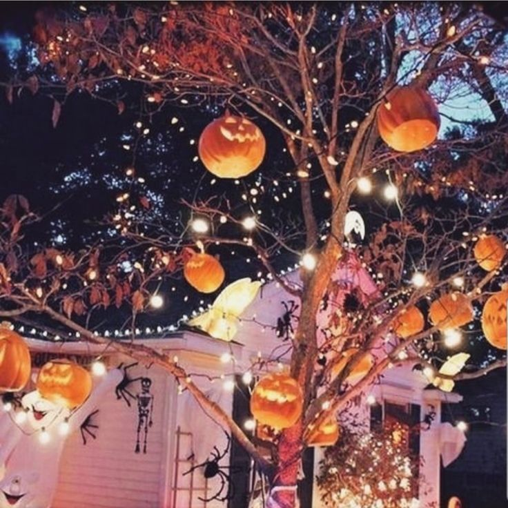 Outdoor Halloween decor – Halloween Dekoration Terrasse & Garten – #Decor #Dekor…