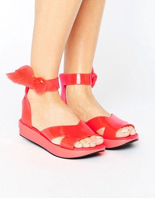 Vivienne Westwood For Melissa Coral Rocking Horse Sandals