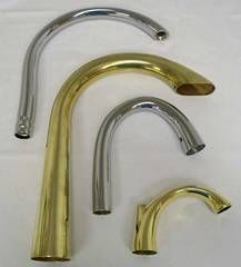 Hydroformed faucets.