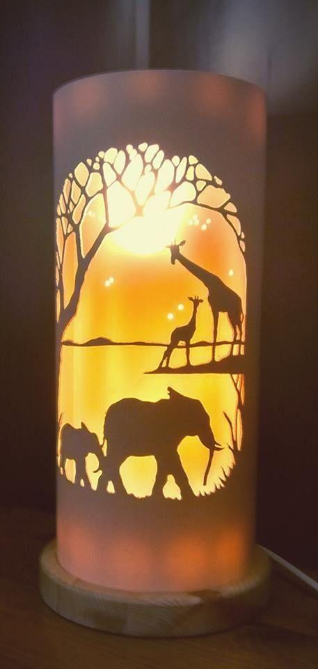 ZAMBEZI LAMP FROM TIQUE LIGHTS