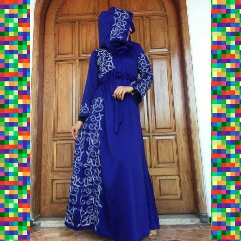 Jalabia kinan on blue