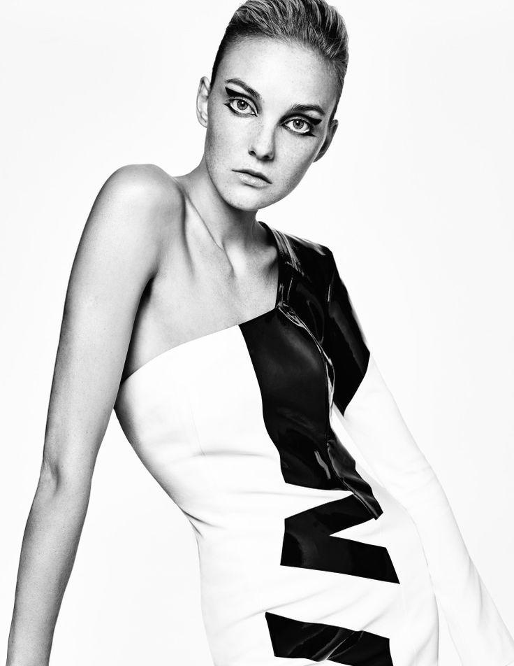 Caroline Trentini by Tom Munro for Vogue Ukraine March 2015