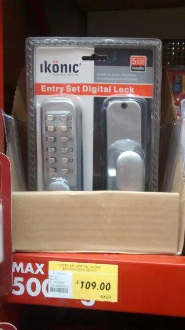 $109 keypad lock