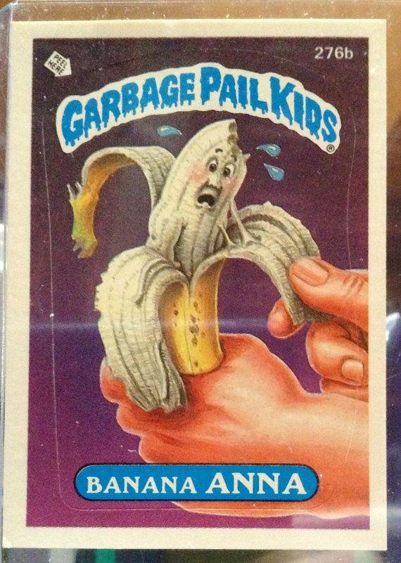1987 Topps Garbage Pail Kids Trading Card 276b by LEATHERGLACIER, $2.00