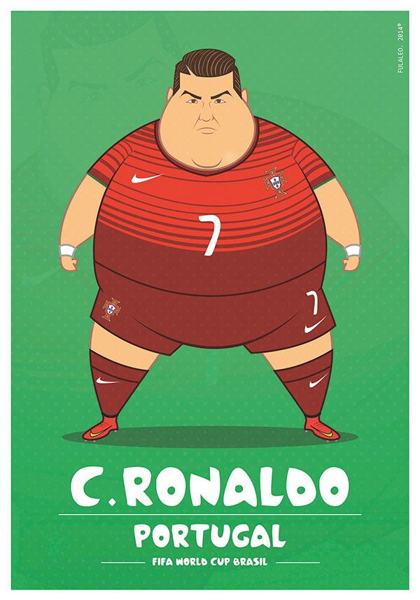 #AlexSolis' #fat #football players - very amusing!