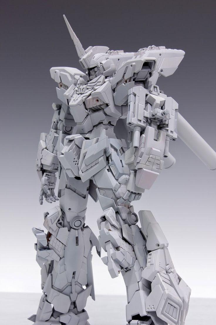 GUNDAM GUY: MG 1/100 Unicorn Gundam Unit 3 Lock Ver. 1.1 - Awesome Build W.I.P. by Redbrick
