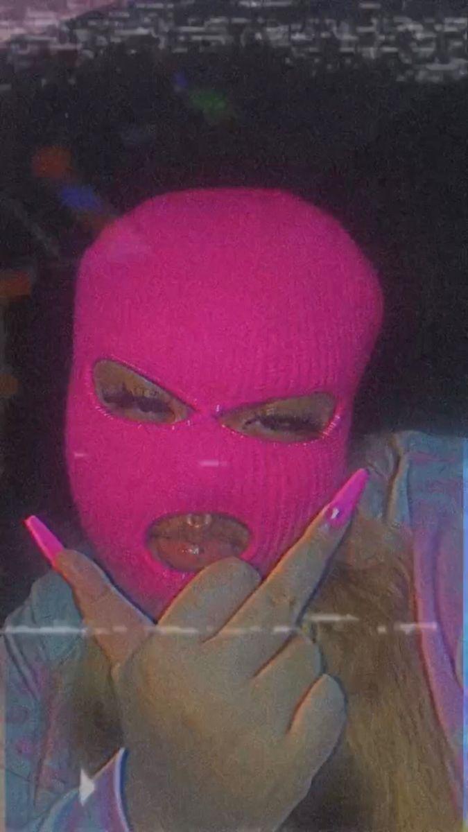 Gangsta Pink Ski Mask Aesthetic Wallpaper : Pink Unicorn