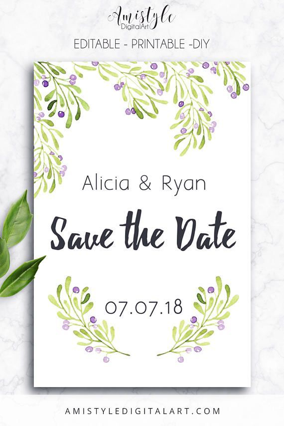 174 best Save the Date Card Ideas images on Pinterest Wedding - save the date template