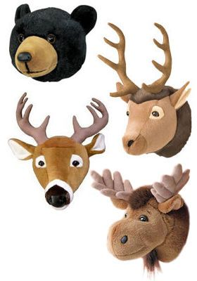 For the little hunter..love these for a kids bedroom.