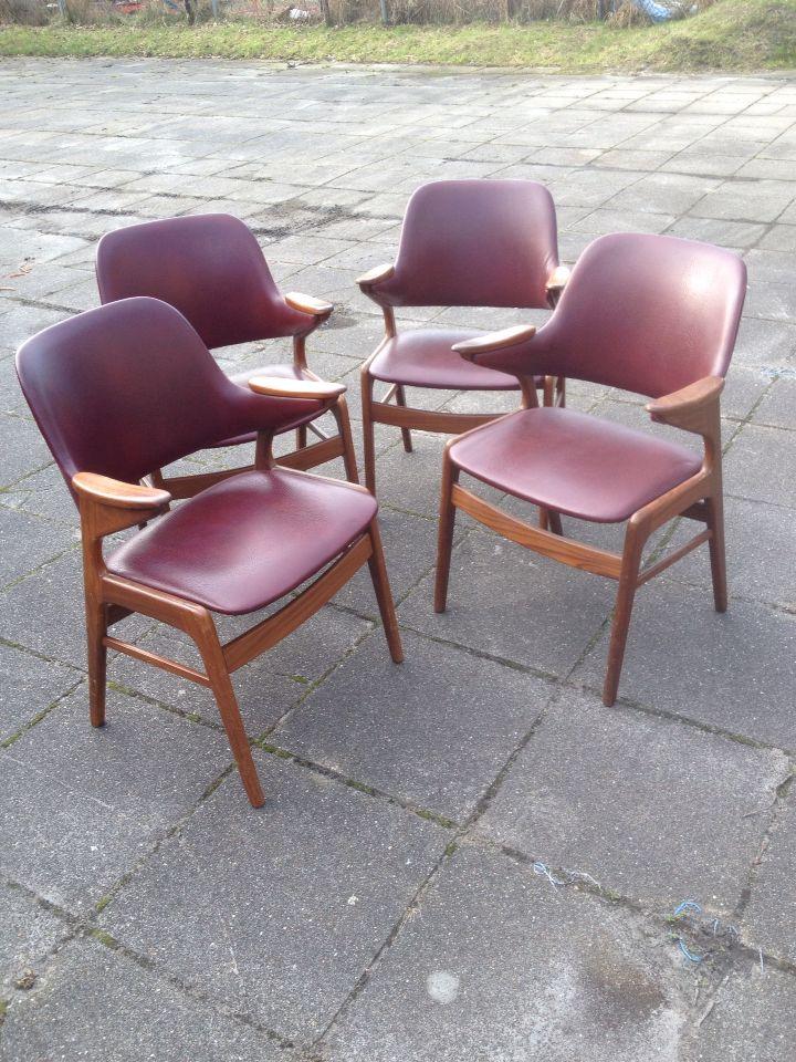 Stoelen jaren 60 à 70 Oogvoordesign Retro & Vintage Woonwinkel Gorredijk