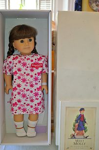 How Much Is An Original American Girl Doll Worth? Hint: Molly, RIP=$$$.