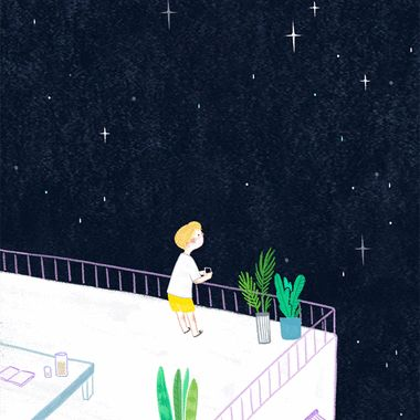 선선한 바람이 부는 옥상에 올라어두컴컴한 밤 하늘에 반짝이는 별들을한참이나 바라보는 시간.   instagram : ckttkafacebook : ckttka