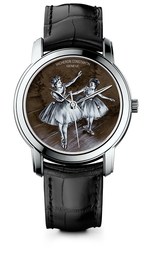 Métiers d'Art Hommage à l'Art de la Danse « Two Dancers on Stage » watch.  http://www.vacheron-constantin.com/en/news/Private-dinner-reception-in-New-York-in-honor-of-Benjamin-Millepied-s-appointment-as-Director-of-the-Paris-Opera-Ballet-1213