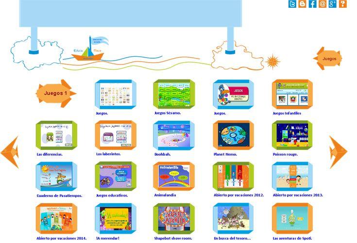 Juegos Interactivos infantiles - Educanave.