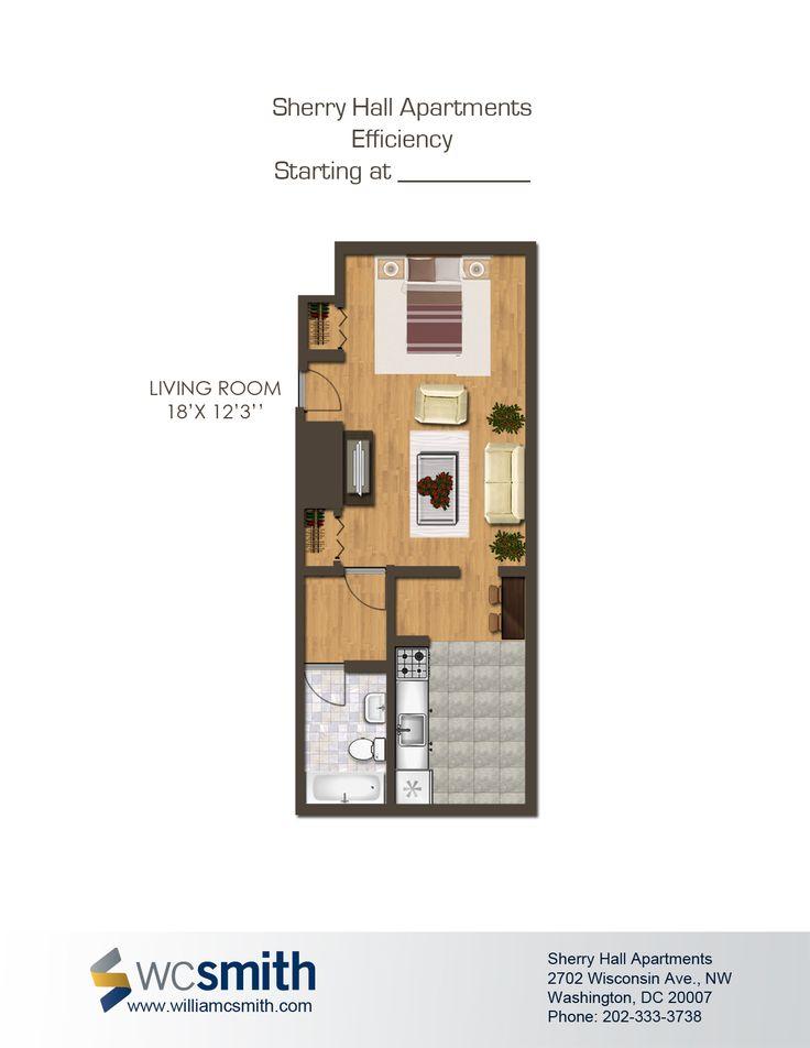 54 best HOME: Studio apartment images on Pinterest