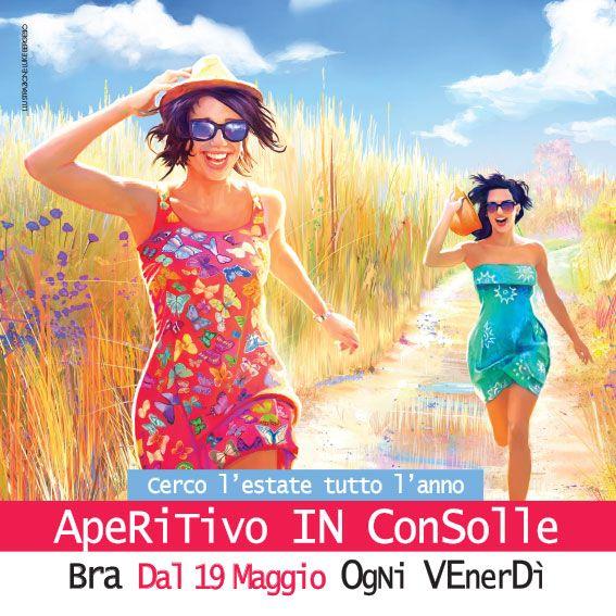 "Bra ""Aperitivo in consolle"", musique et oenogastronomie jusqu'à fin juillet  !"