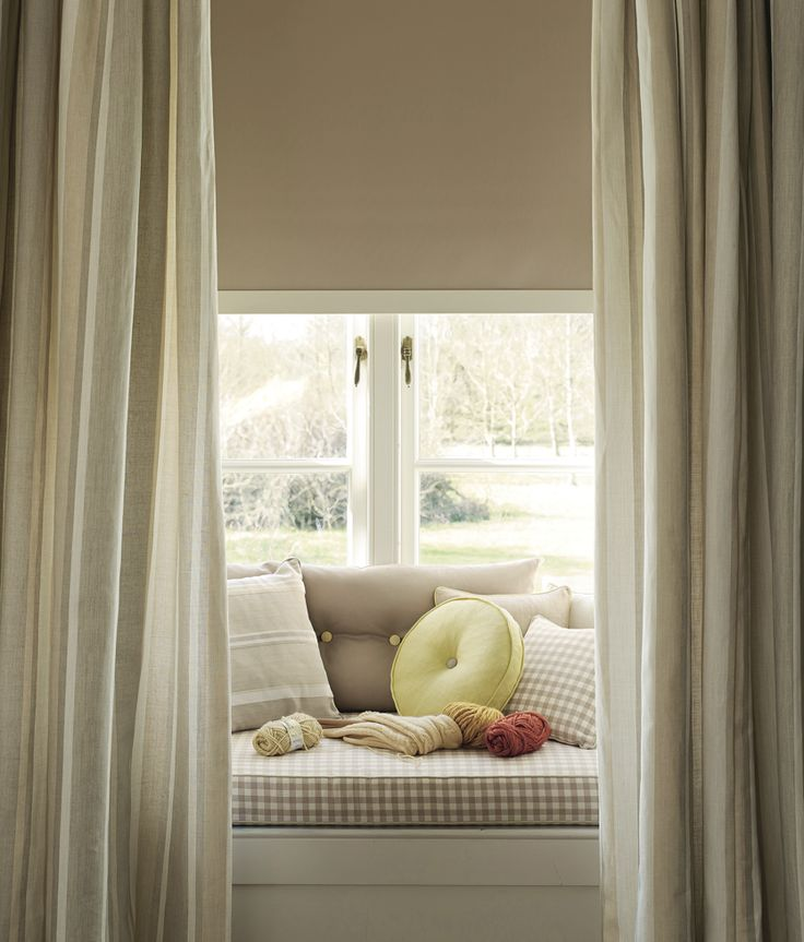 Window Seats, Curtains And Home