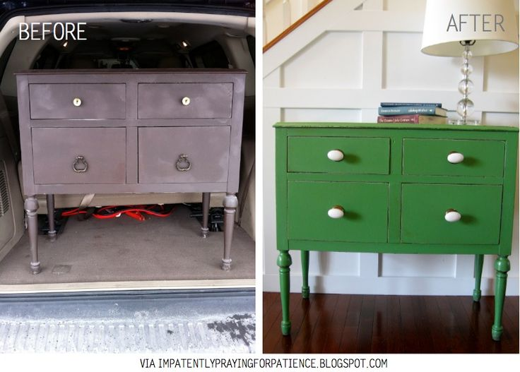Top 15 Before & After Furniture Re-Makes - DIY Inspiration
