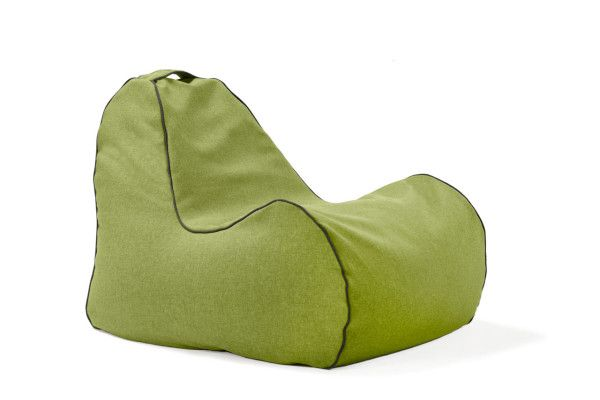Modern Bean Bag Chair from Lujo.  Their bean bags incorporate an elegant aesthetic, contemporary colors and quality fabrics, resulting in a collection of stylish bean bag furniture for the modern interior. http://design-milk.com/win-modern-bean-bag-chair-lujo/