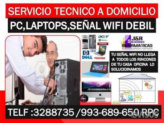 Tecnico de laptops,computdoras,internet wifi,redes wifi,a domicilio oficinas Soporte tecnico a Domicilio,Oficinas,Tu PC, .. http://lima-city.evisos.com.pe/tecnico-de-laptops-computdoras-internet-wifi-redes-wifi-a-domicil-id-590275