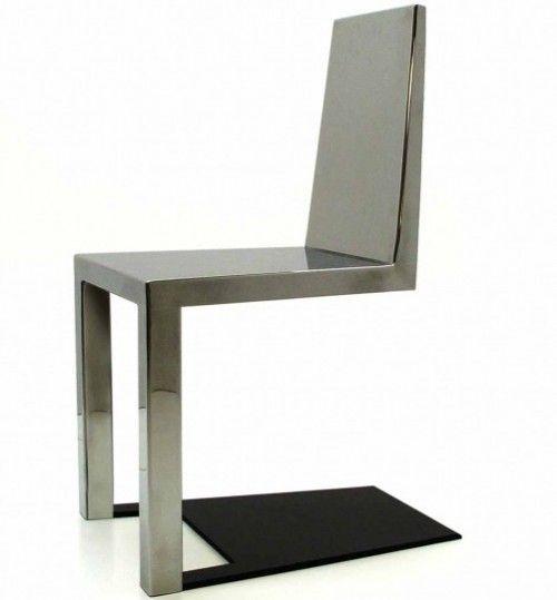 FLIPERAMA TILT - Design - Cinema - Música - Tecnologia: Ilusão de ótica: cadeira com 2 pés