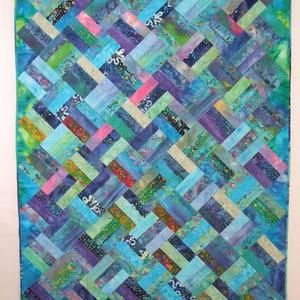 Fabric Freedom Jelly Roll Free Quilt Pattern                                                                                                                                                     More