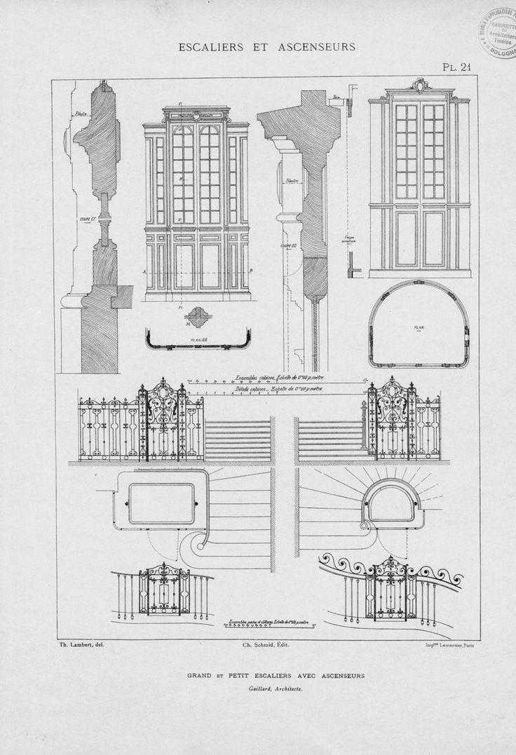 Treppen architektur detail  166 besten Drawing stairs and stair railing Bilder auf Pinterest ...