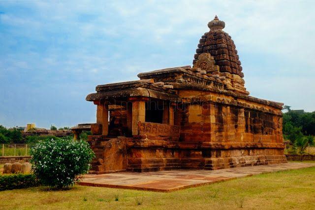 Hucchimalli Gudi, Badami Chalukya Temple in Aihole, Karnataka, India