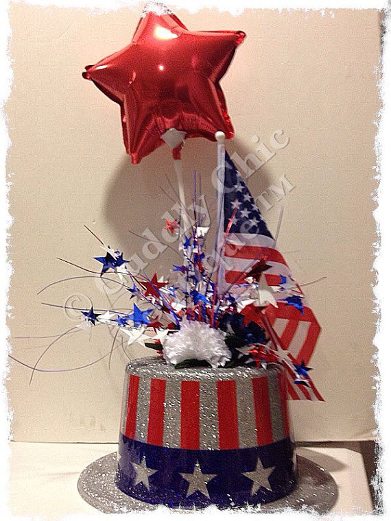 172 Best 4th Of July Centerpieces Images On Pinterest