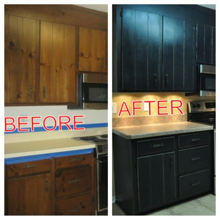This website is awesome! This is how to redo kitchen cabinets but also has instructions on how to redo stairs, old furniture and more! So inspiring!