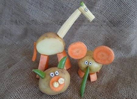 Bannisters' Farm Vegetable Animals