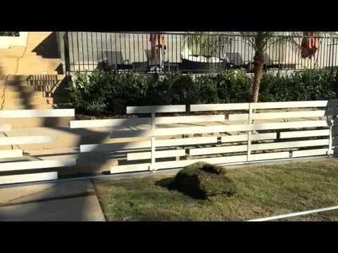 Iron Sliding Gate Pasadena | Mulholland Security | 1-800-562-5770 - YouTube