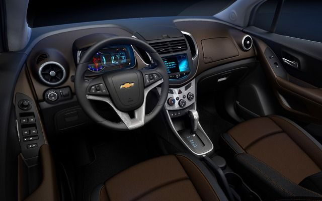 Intérieur Trax 2014 | SUV\'s | Pinterest | Chevrolet trax and Chevrolet