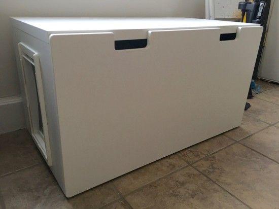 17 best ideas about ikea hack bench on pinterest diy for Ikea litter box