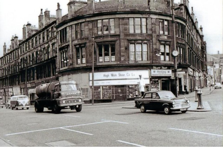 Gascrube rd and possil rd 1950s