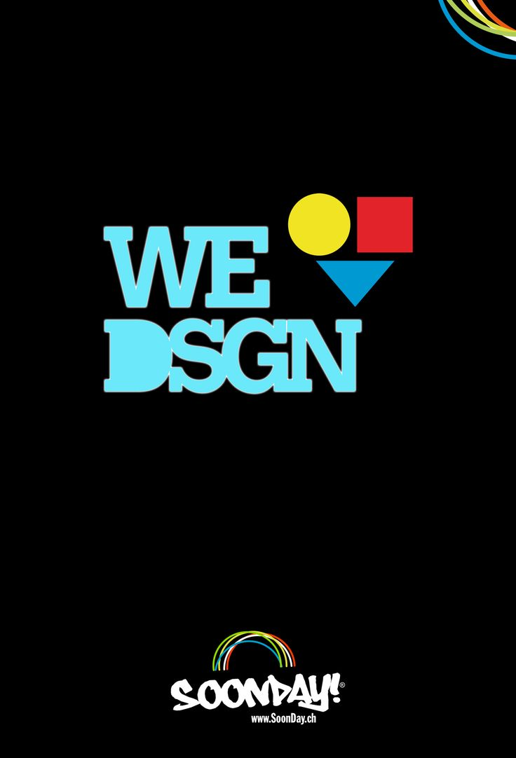 We Love Design  ::  www.SoonDay.ch