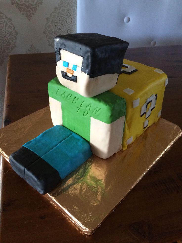 Minecraft Birthday Cake Pics