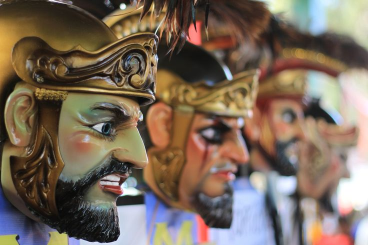 Roam in the streets of Marinduque during Lent to experience being chased by men dressed as Roman soldiers wearing these wooden masks. Moriones Festival is one of the must visit festival in this 7,107 islands of fun!