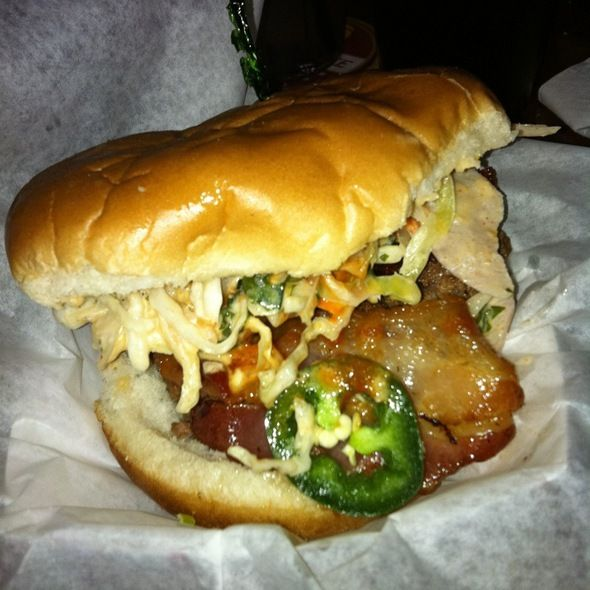 Say WTF? Pterodactyl, Ding-Dong Style With Bacon And Jalapenos @ Pinky's Westside Grill