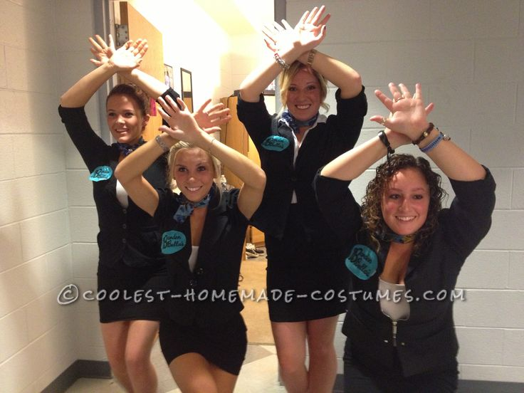 Easy All-Girl Group Halloween Costume: Pitch Perfect Barden Bella's… Coolest Halloween Costume Contest