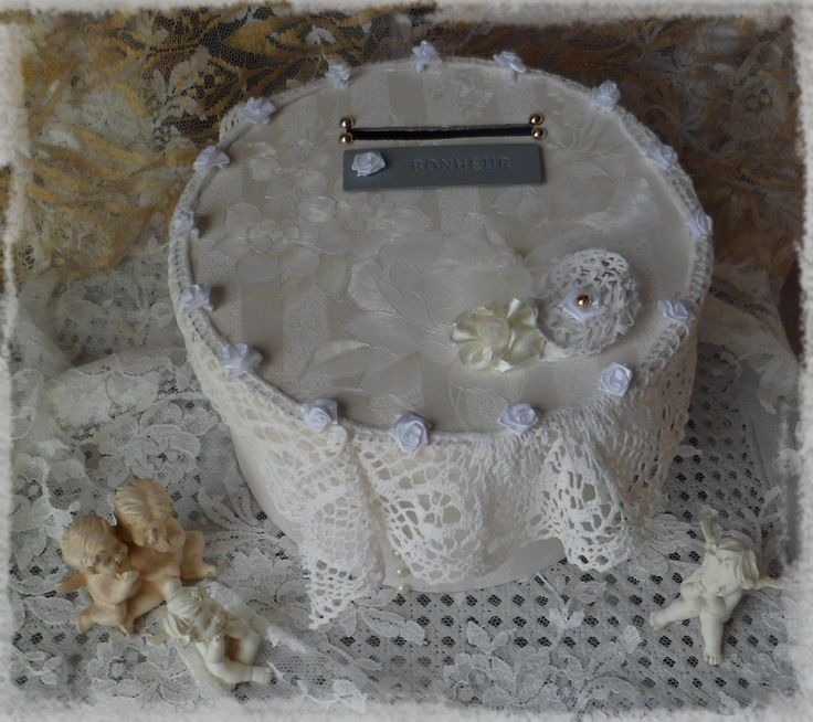 29 best ideas about cr ations cr alic lie bo tes shabby for Boite shabby chic