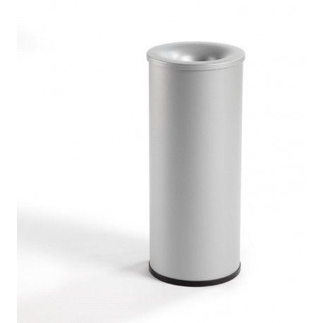 Papelera metálica Ignífuga Papelera metálica Ignífuga. Aro inferior PVC. Capacidad 39 litros