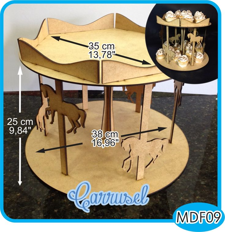 Carrusel para la mesa de dulces. En la parte superior puedes colocar un mini cake, flores o dulces. / Carousel for candy bar. You can place a mini cake, flowers or candy at the top. - Pedidos/InquirIes to: crearcjs@gmail.com