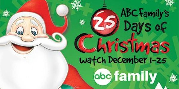 25 Days of Christmas event, which traditionally begins December 1 and runs every day up to Christmas with a slew of holiday programming. That includes classic holiday films -- both animated and live-action -- and some original movies.