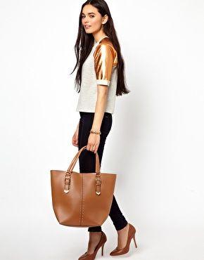 ALDO Belinsky Studded Tote Bag