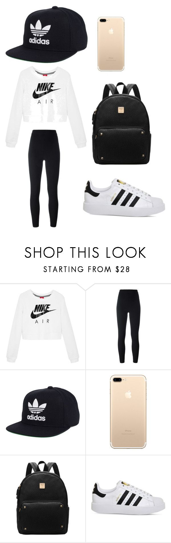 """""""How to wear Adidas"""" by phuong-linh-to on Polyvore featuring NIKE, adidas Originals and adidas"""