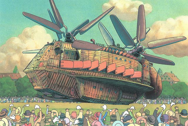 Imaginary Flying Machines by Studio Ghibli