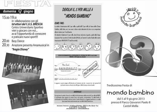 13 Festa Mondo Bambino a Castel Mella http://www.panesalamina.com/2013/11864-13-festa-mondo-bambino-a-castel-mella.html