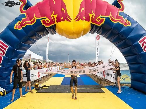 Aquatic runner Italy 2016 - 28 km